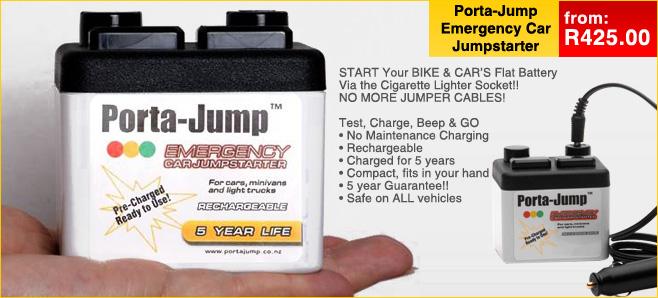 Porta Jump Car Kit Emergency Battery Starter