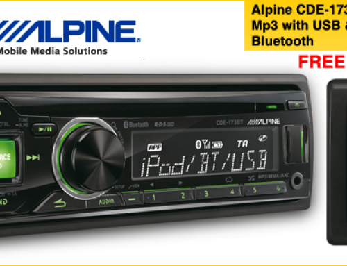 Car Audio Focus: Alpine CDE-173BT – CD/USB Receiver