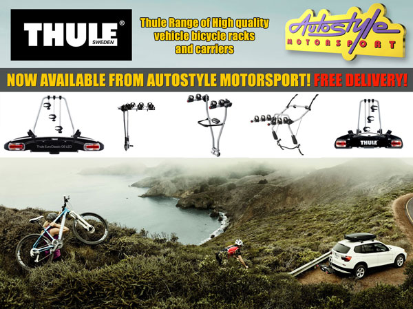 thule bike carriers now available