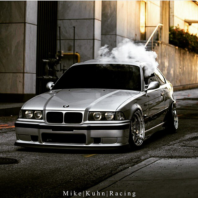 Smoking Hot #e36 #bmw , Tinted Glass Ftw Right?
